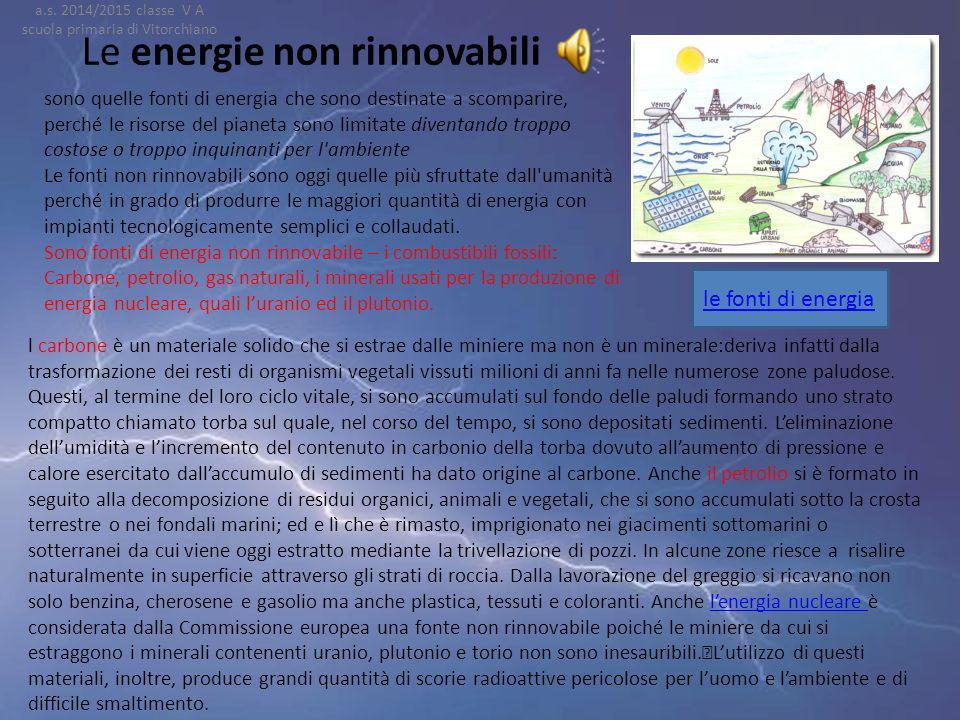 Le risorse rinnovabili Da un'analisi geografica dell'Italia relativa alla distribuzione degli impianti di energia rinnovabili, al nord risulta esserci