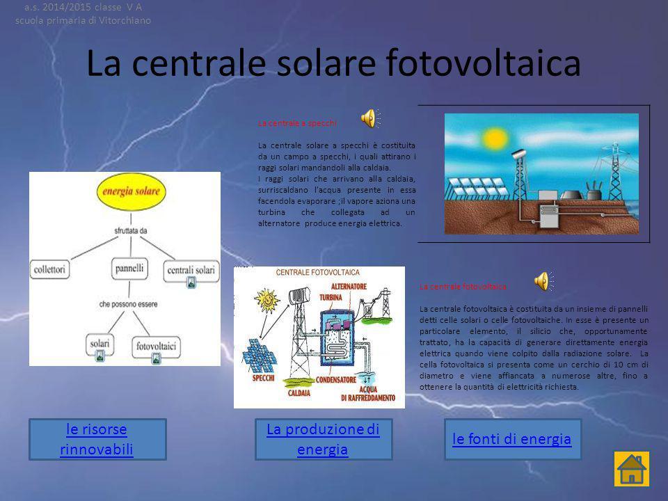 La centrale geotermica L ' energia geotermica è l'energia per mezzo di fonti geologiche di calore e può essere considerata una forma di energia altern