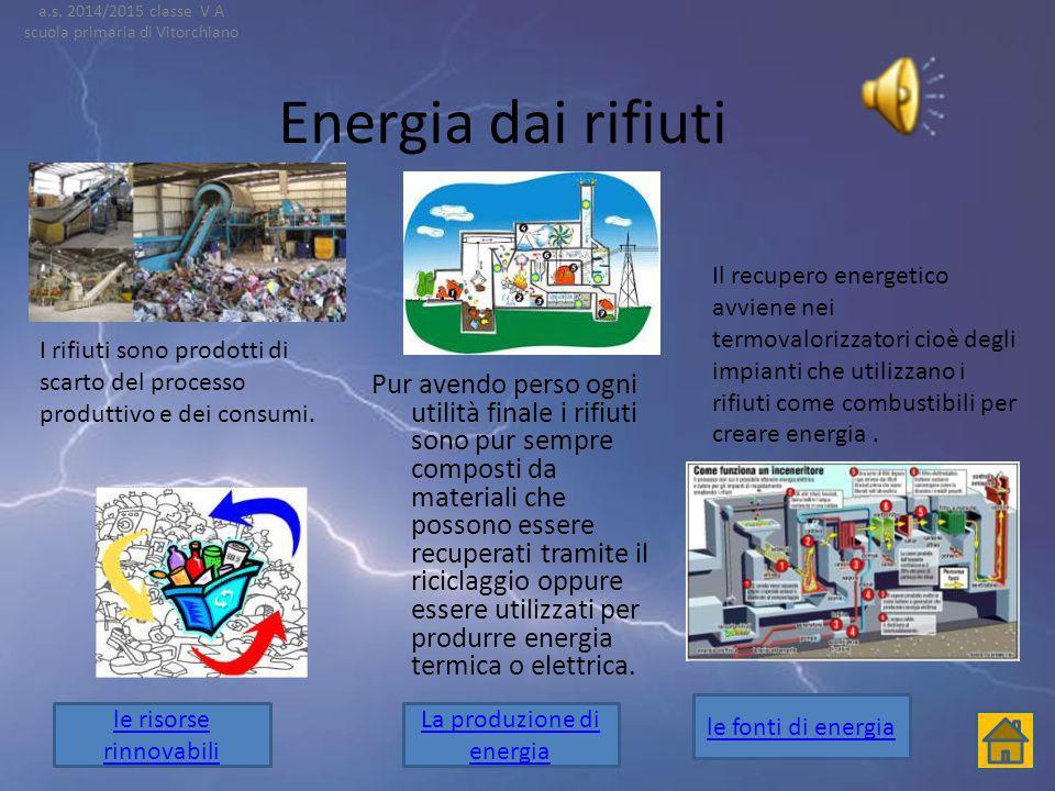 L'energia eolica Il nome eolica deriva da Eolo il dio del vento,lo sfruttamento dell' energia eolica, relativamente semplice e poco costoso,è attivato