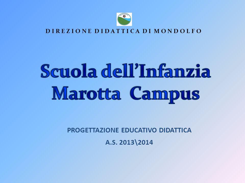 PROGETTAZIONE EDUCATIVO DIDATTICA A.S.