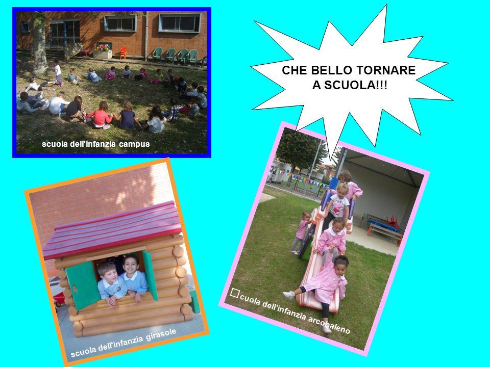 scuola dell'infanzia campus scuola dell'infanzia girasole CHE BELLO TORNARE A SCUOLA!!! s cuola dell'infanzia arcobaleno