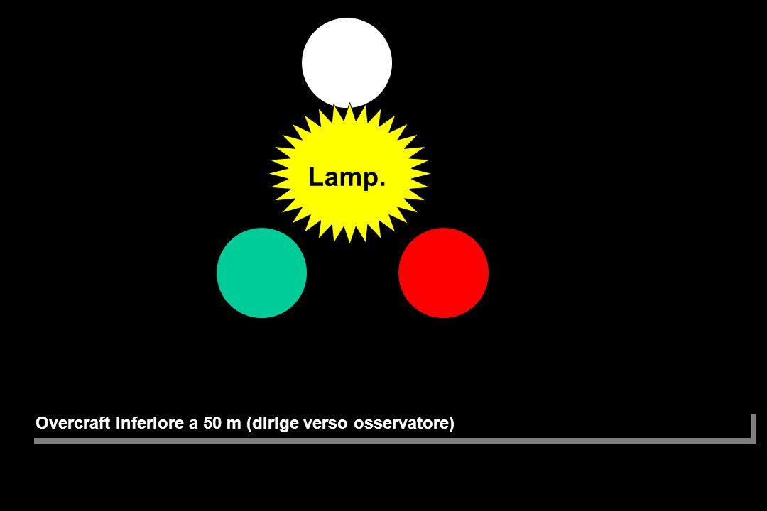Overcraft (mostra poppa osservatore) Lamp.