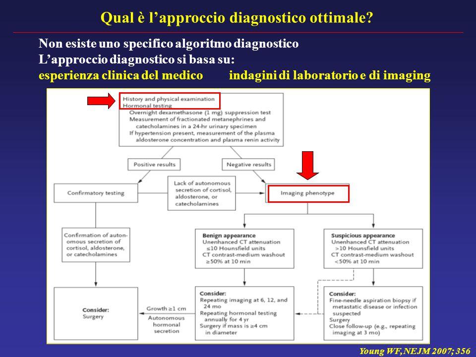 Qual è l'approccio diagnostico ottimale.