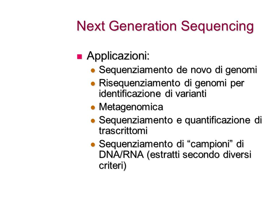 Peak finding The main issue: the DNA sample sequenced (apart from sequencing errors/artifacts) contains a lot of noise The main issue: the DNA sample sequenced (apart from sequencing errors/artifacts) contains a lot of noise Sample contamination - the DNA of the PhD student performing the experiment Sample contamination - the DNA of the PhD student performing the experiment DNA shearing is not uniform: open chromatin regions tend to be fragmented more easily and thus are more likely to be sequenced DNA shearing is not uniform: open chromatin regions tend to be fragmented more easily and thus are more likely to be sequenced Repetitive sequences might be artificially enriched due to inaccuracies in genome assembly Repetitive sequences might be artificially enriched due to inaccuracies in genome assembly Amplification pushed too much: you see a single DNA fragment amplified, not enriched Amplification pushed too much: you see a single DNA fragment amplified, not enriched As yet unknown problems, that anyway seem to produce noisy sequencings and screw the experiment up As yet unknown problems, that anyway seem to produce noisy sequencings and screw the experiment up