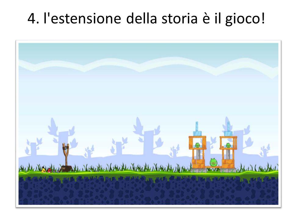 4. l estensione della storia è il gioco!