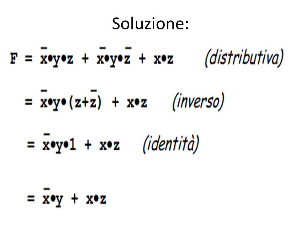 Soluzione: