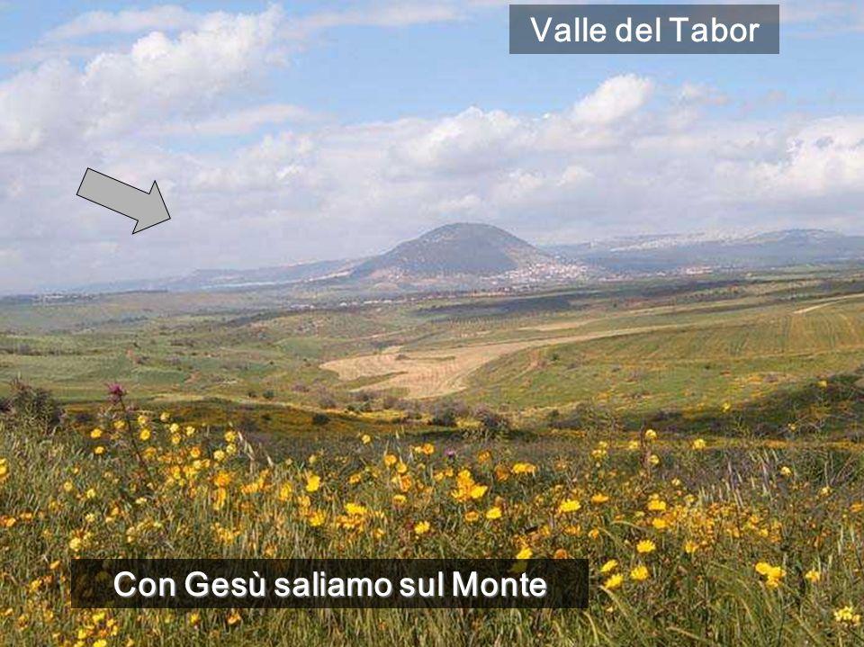 Con Gesù saliamo sul Monte Valle del Tabor