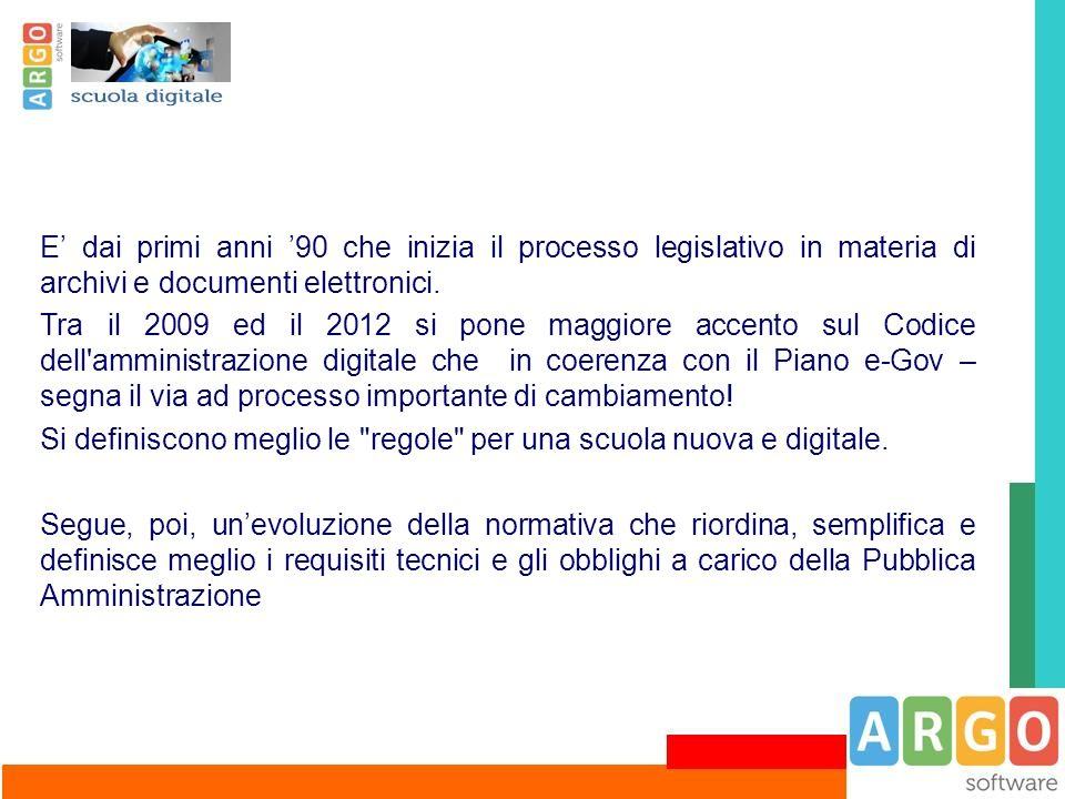 La Soluzione di Argo: Amministrazione Trasparente È il servizio web che consente la pubblicazione ed archiviazione dei documenti che la Scuola deve mettere a disposizione dei cittadini sul proprio sito istituzionale (D.lgs 33/2013).