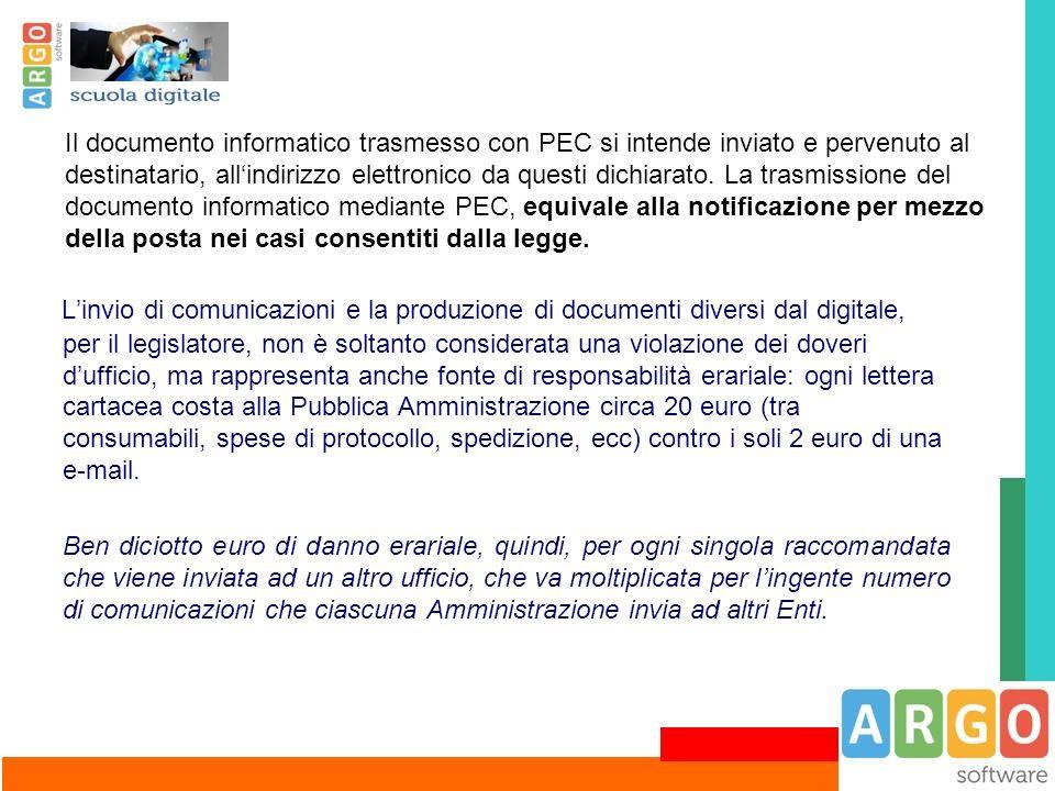 L'invio di comunicazioni e la produzione di documenti diversi dal digitale, per il legislatore, non è soltanto considerata una violazione dei doveri d