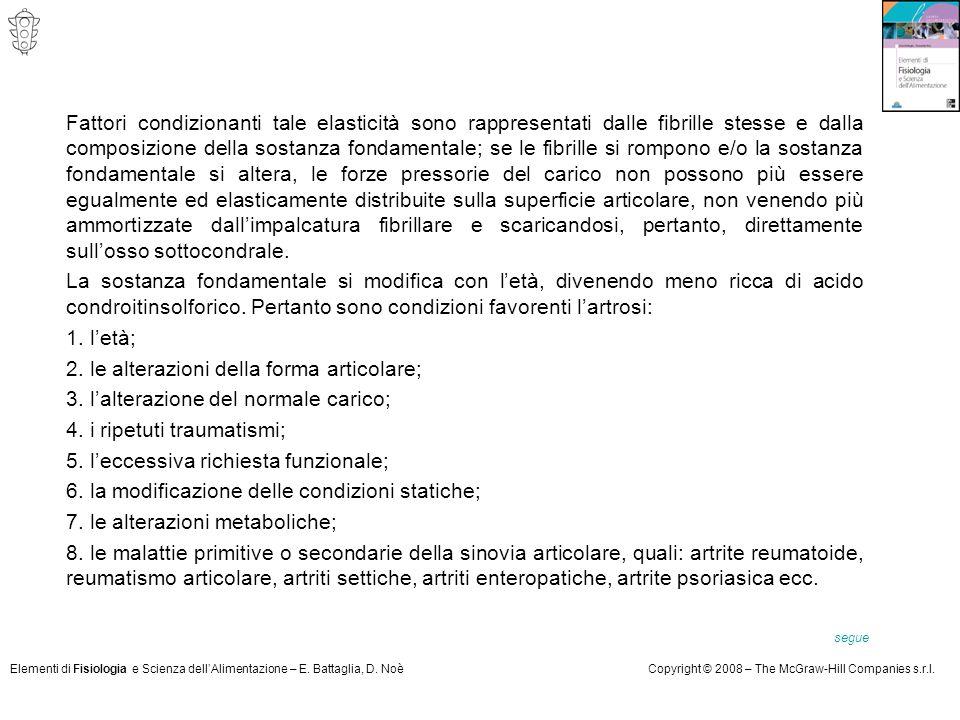 Elementi di Fisiologia e Scienza dell'Alimentazione – E. Battaglia, D. NoèCopyright © 2008 – The McGraw-Hill Companies s.r.l. Fattori condizionanti ta