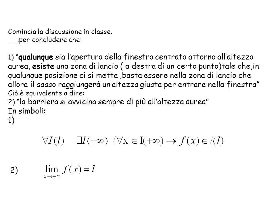 d) Si può dire che senx ed x sono due infinitesimi equivalenti.