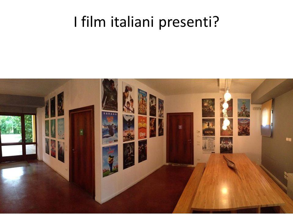 I film italiani presenti?