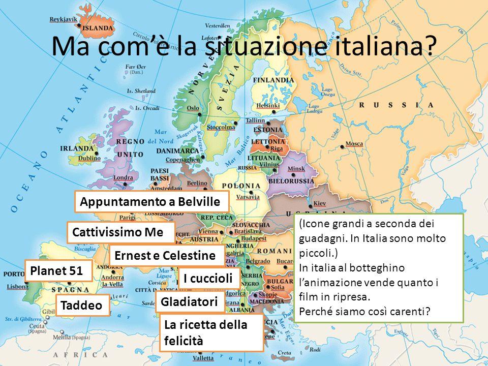 Ma com'è la situazione italiana.