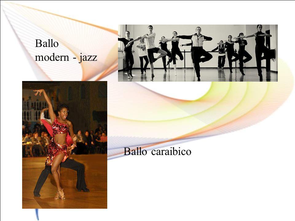 Ballo modern - jazz Ballo caraibico