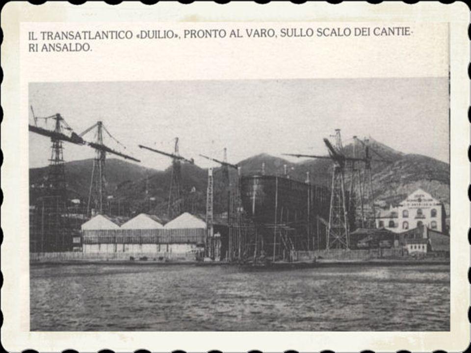 5) E l'inizio dell'industrializzazione del paese. Nel 1865 viene acquistato palazzo Fieschi, alfine di adibirlo a sede del Comune. La somma pagata fu