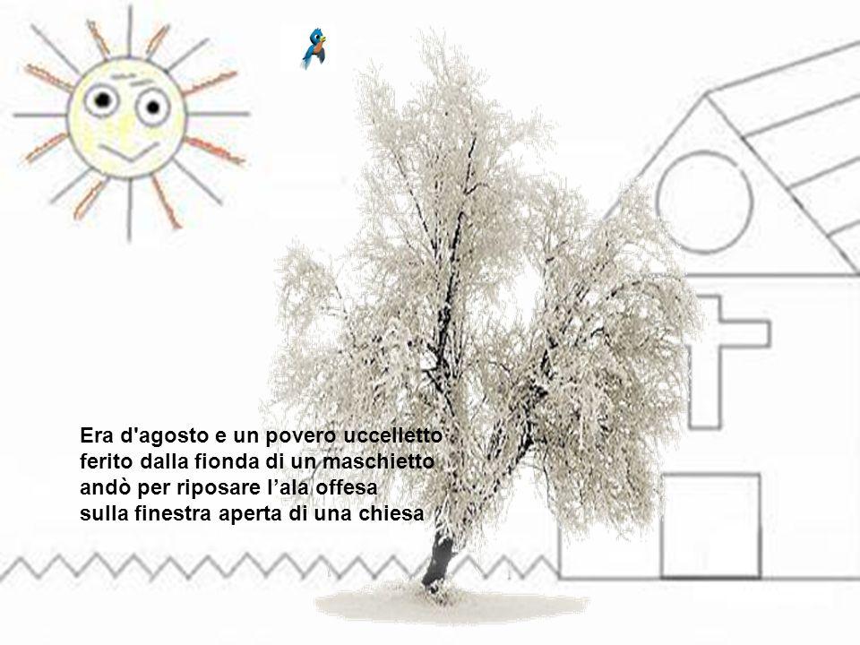 """L'uccelletto in chiesa """"L'UCCELLETTO IN CHIESA"""", comunemente attribuito al grande poeta romano Trilussa, in realtà è la versione in italiano di un son"""