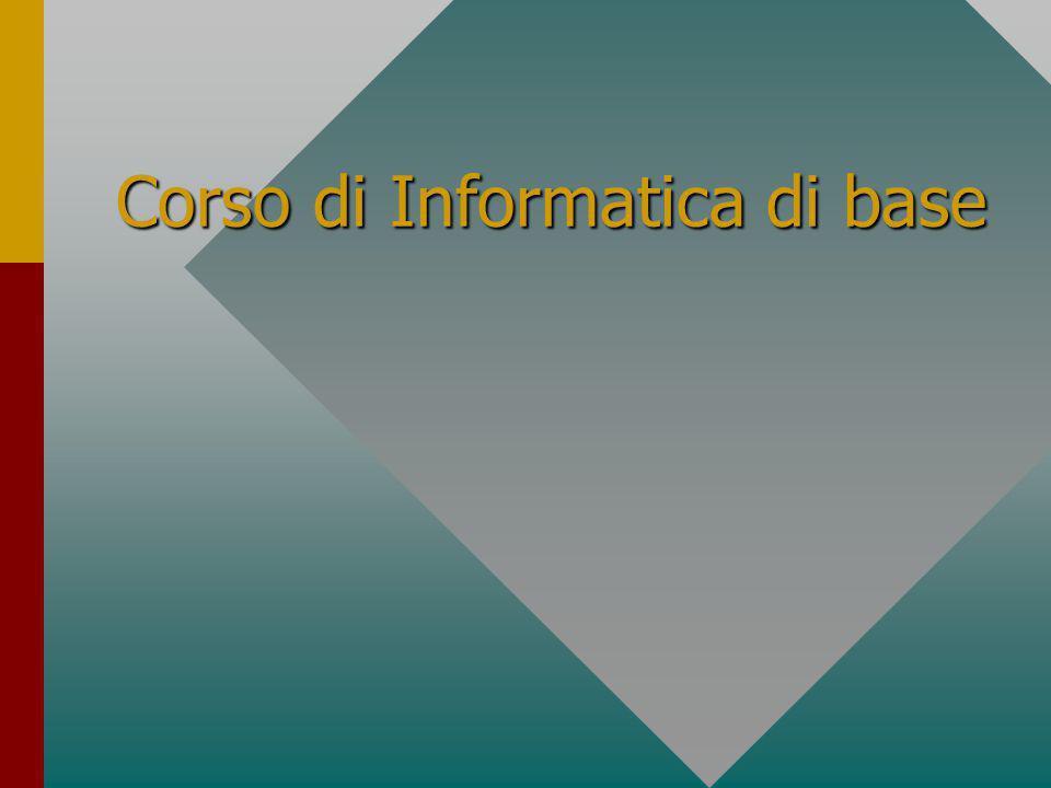 Corso di Informatica di base