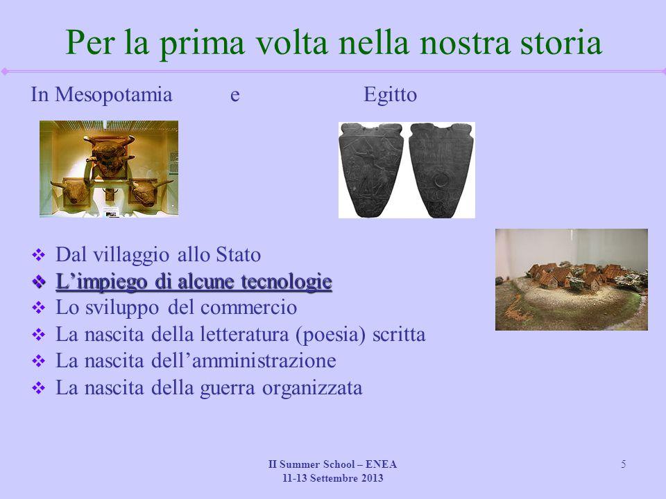 II Summer School – ENEA 11-13 Settembre 2013 26 I prodotti dell'argilla  Il mattone  La ceramica