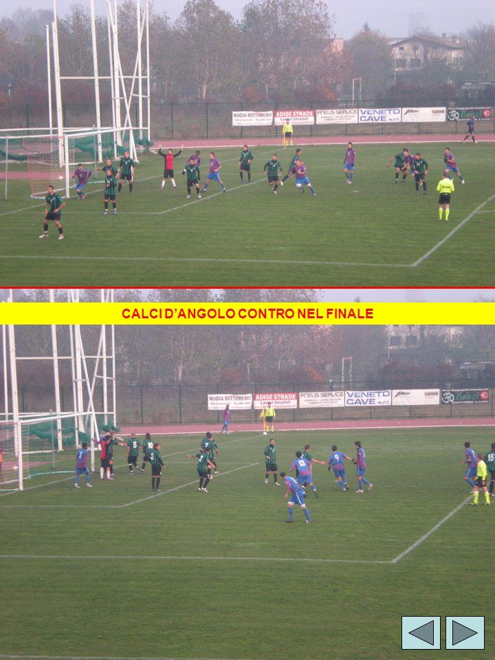 CALCI D'ANGOLO CONTRO NEL FINALE