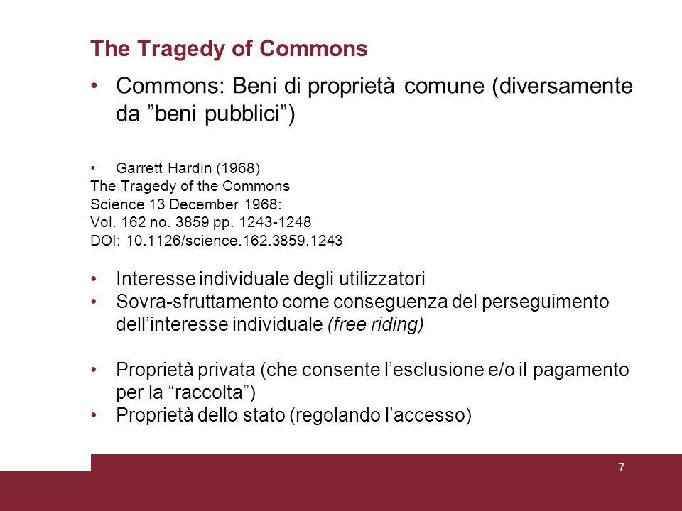 Verso nuovi modelli di razionalità In field situations, individuals tend to use heuristics - rules of thumb - that they have learned over time regarding responses that tend to give them good outcomes in particular kinds of situations … In addition to learning instrumental heuristics, individuals also learn to adopt and use norms and rules.