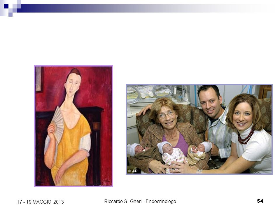 Riccardo G.Gheri - Endocrinologo55 17 - 19 MAGGIO 2013 Grazie a...