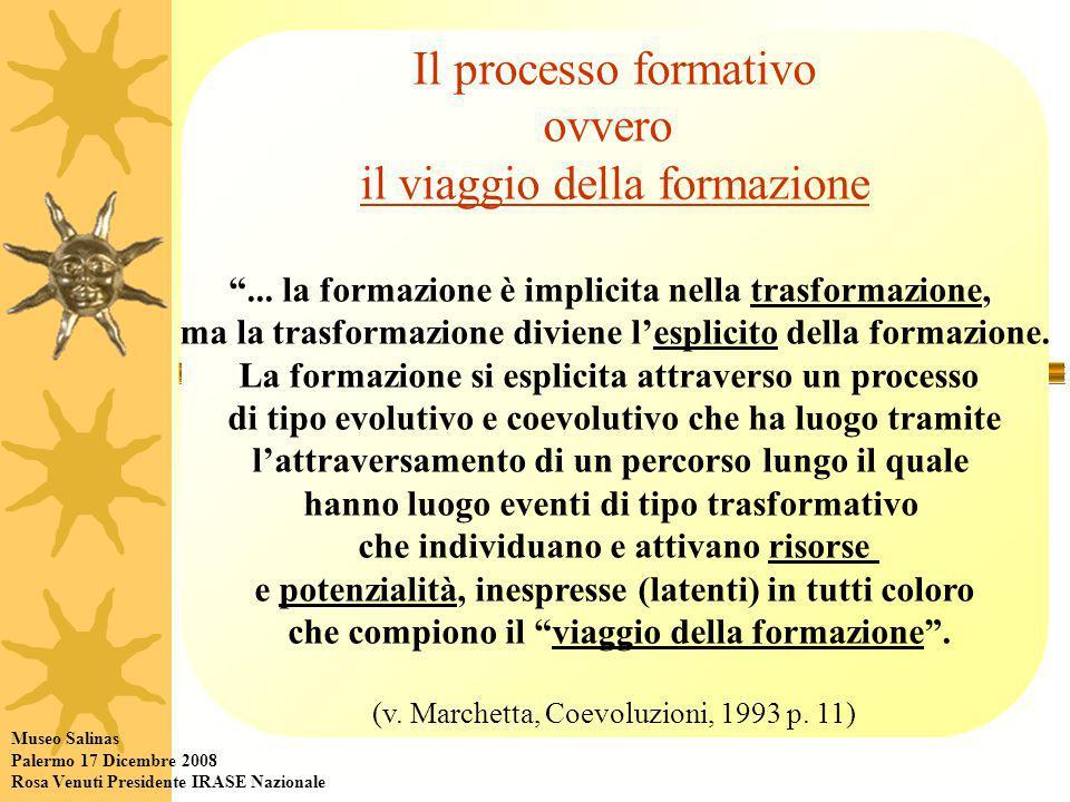 Il processo formativo ovvero il viaggio della formazione ...