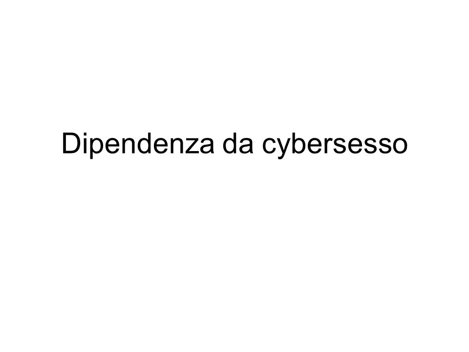 Cosa fanno Il cybersesso può essere definito come un attività sessuale messa in atto tramite l'ausilio della tecnologia digitale.