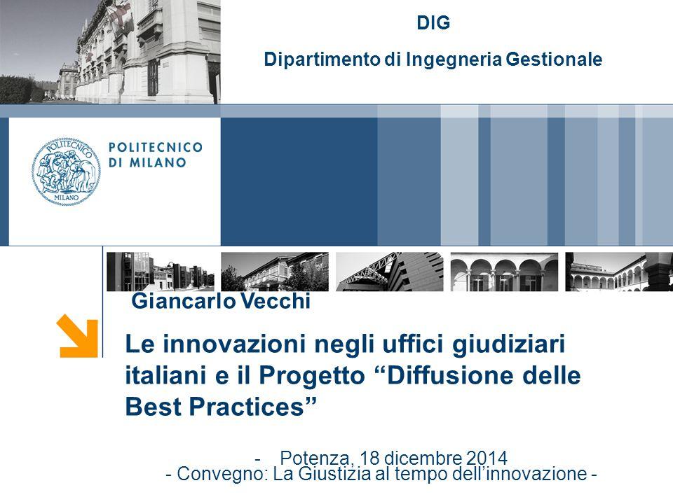 12 Giancarlo Vecchi TIPI DI INTERVENTI/8 8.