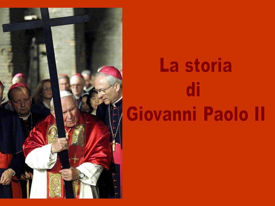 Giovanni Paolo II è il 264° Papa (263° Successore di Pietro).