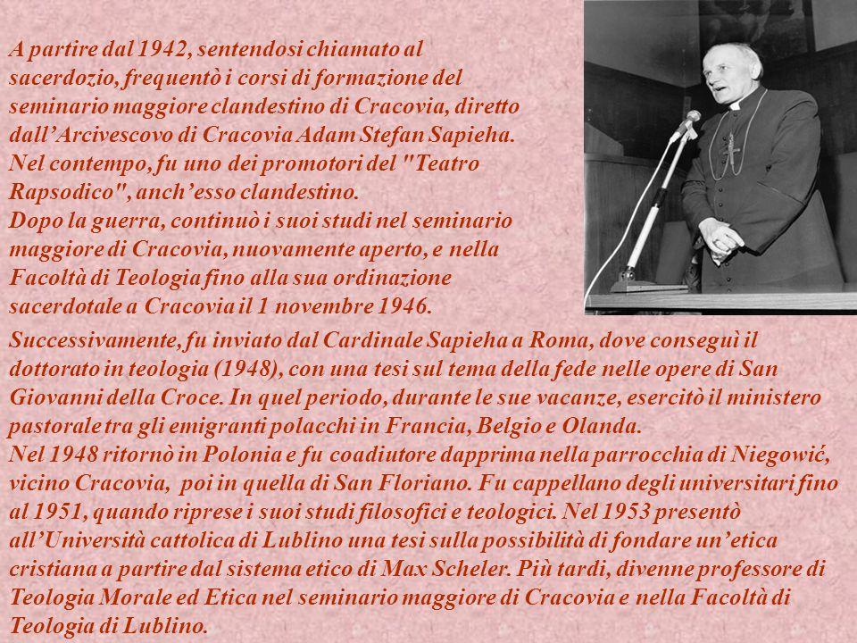 Il 4 luglio 1958, il Papa Pio XII lo nominò Vescovo titolare di Ombi e Ausiliare di Cracovia.