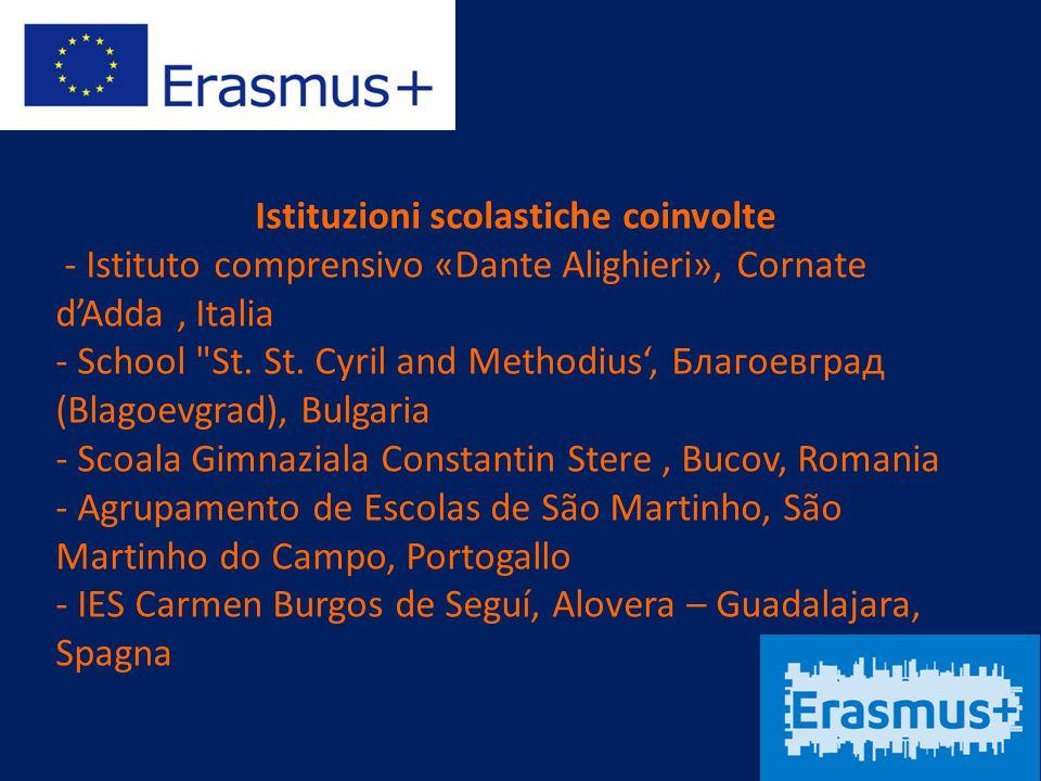 Istituzioni scolastiche coinvolte - Istituto comprensivo «Dante Alighieri», Cornate d'Adda, Italia - School