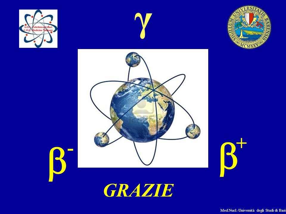 Med.Nucl.-Università degli Studi di Bari  -  + GRAZIE γ