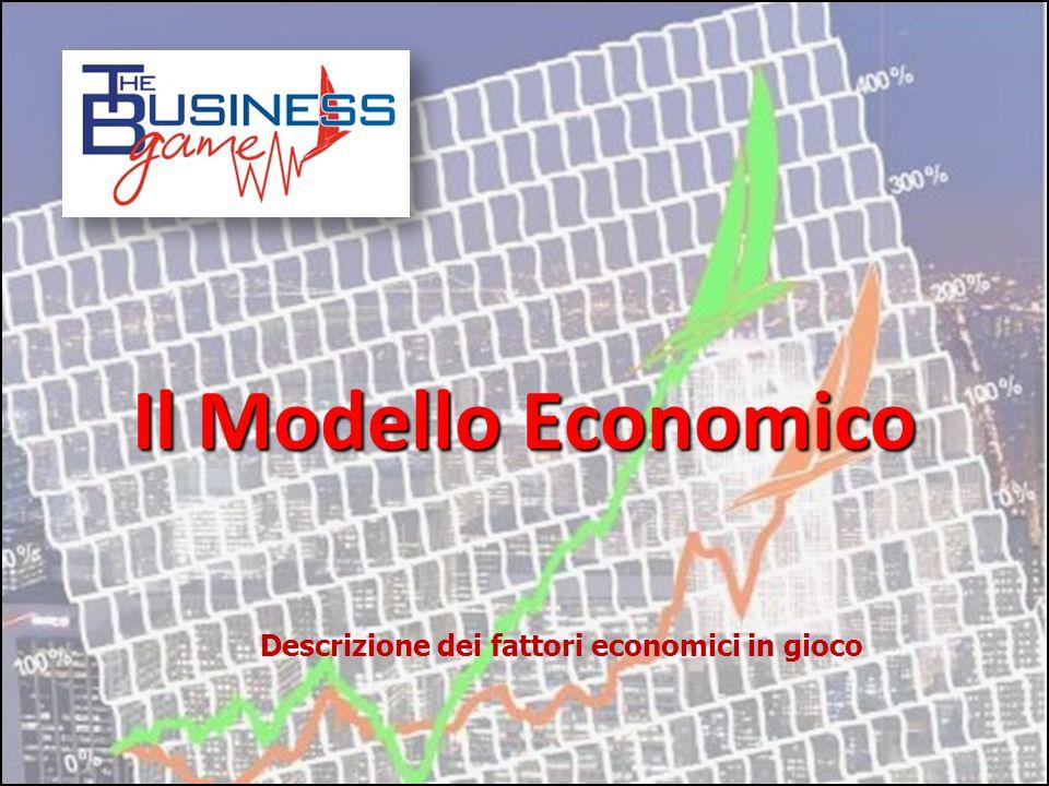 Il Modello Economico Descrizione dei fattori economici in gioco