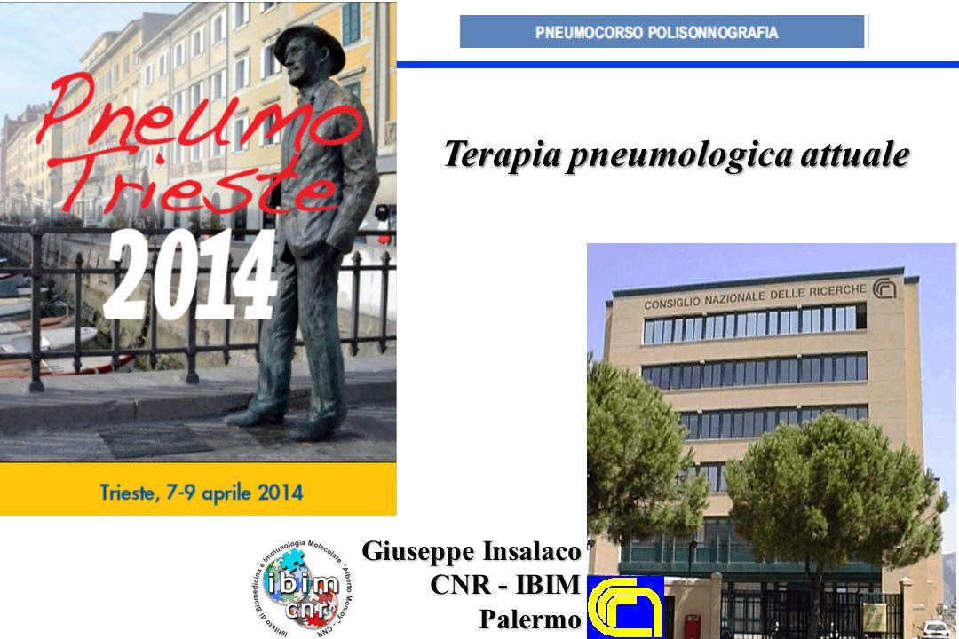 Terapia pneumologica attuale Giuseppe Insalaco CNR - IBIM Palermo