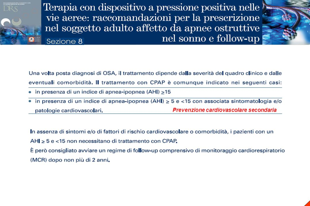 McArdle, AJRCCM 1999;159:1108-14 COMPLIANCE ALLA CPAP A LUNGO TERMINE