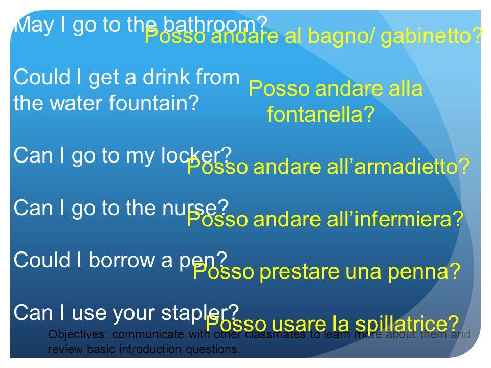 2 nd type -ire verbs pulire means to clean stem: pul- (io) pulisco (tu) pulisci (lui/lei) pulisce (noi) puliamo (voi) pulite (loro) puliscono conjugation: Gli studenti saranno in grado di annalizzare la racconta Ferragosto , ricordare i mesi con altre ferie, ripassare i verbi utili per livello 2a.