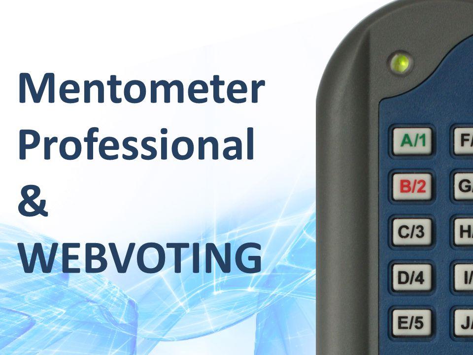 Mentometer Professional & WEBVOTING