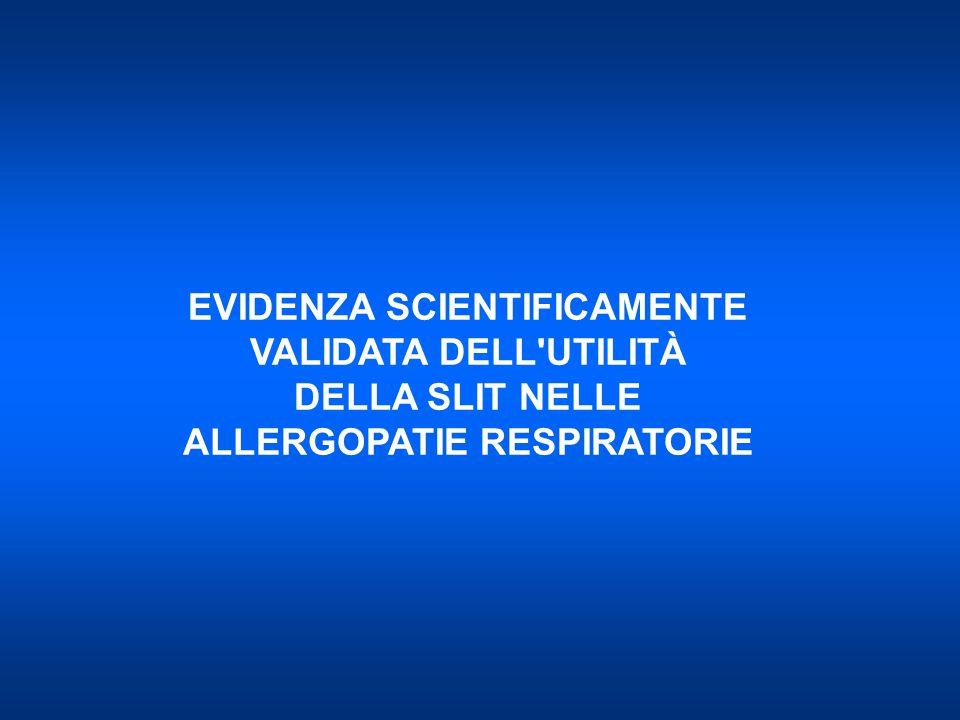 Progetto Mondiale ASMA 2010 © 2010 PROGETTO LIBRA www.ginasma.it L'ITS può essere indicata nei pazienti con asma allergico da lieve a moderato, specie se associato a rinite, in cui sia evidente una relazione tra sintomatologia ed esposizione all'allergene, verso cui è presente sensibilizzazione.