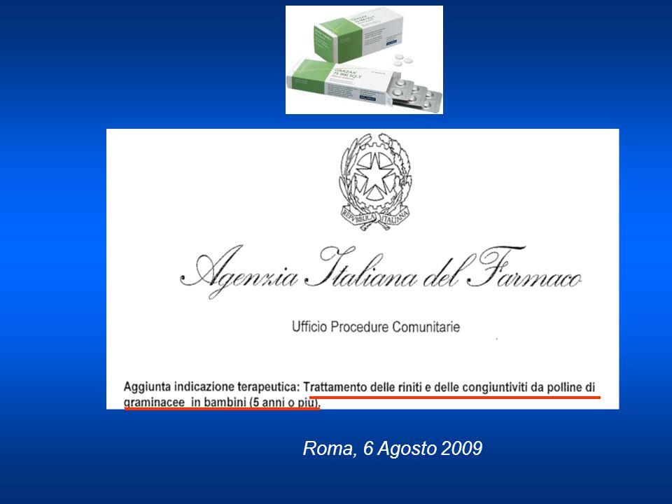 Roma, 6 Agosto 2009