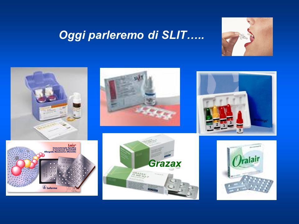 Oggi parleremo di SLIT….. Grazax