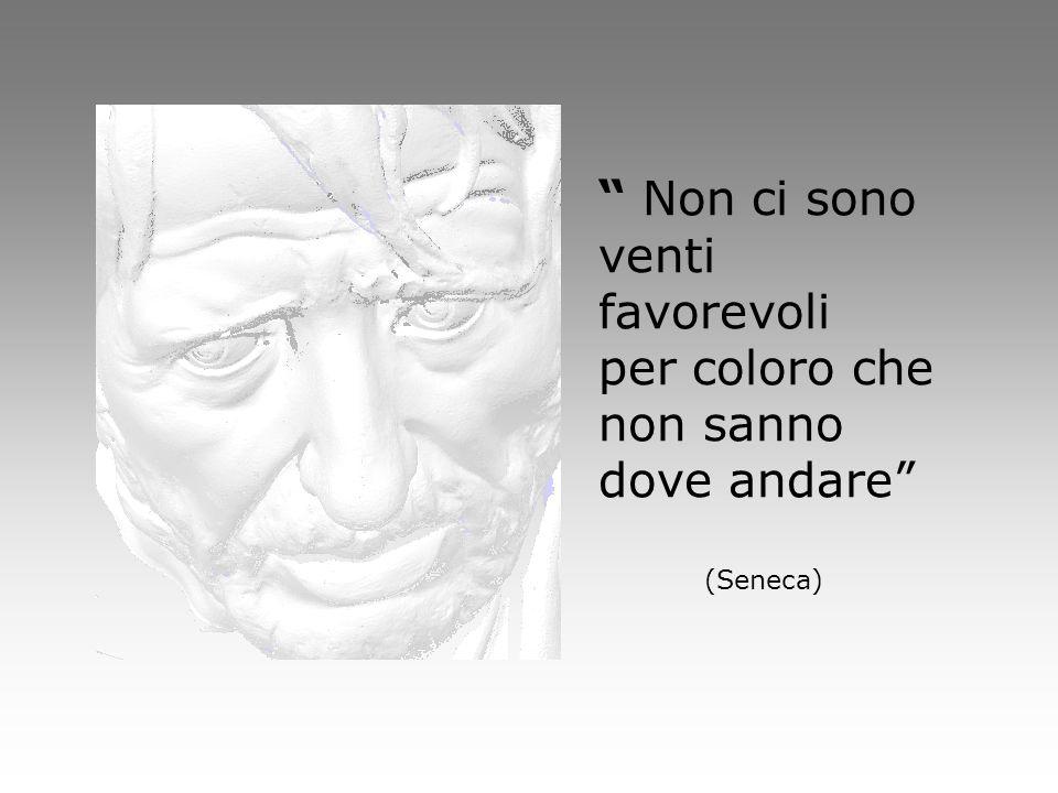 """"""" Non ci sono venti favorevoli per coloro che non sanno dove andare"""" (Seneca)"""
