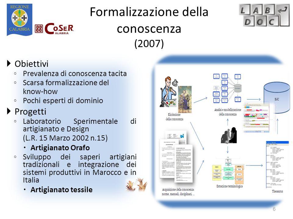 L'interfaccia: Mappatura verso un codice LOINC Creare associazioni (N codici LOINC : N analisi di laboratorio) con il LOINC, visualizzando:  Le mappature fatte dagli altri utenti verso un generico codice LOINC  I dettagli di ogni termine LOINC  in inglese  in italiano (se presente)  nella traduzione cumul (se presente) Elenco analisi del laboratorio X Codici LOINC Dettagli LOINC 37