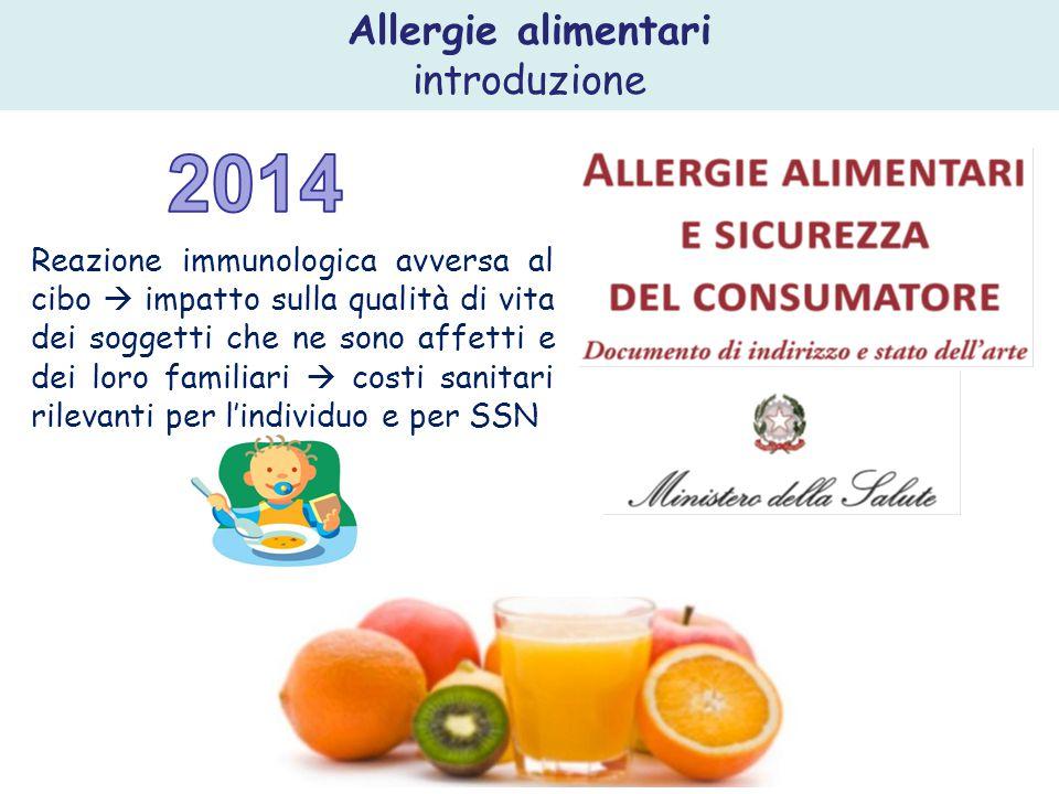  Prevention of food allergy  Incoraggiare l'allattamento al seno esclusivo per i primi 4-6 mesi di vita.