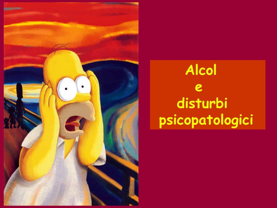 Alcol e disturbi psicopatologici