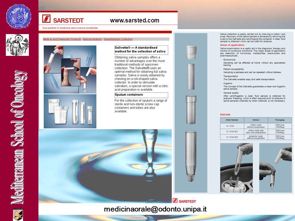 medicinaorale@odonto.unipa.it www.sarsted.com