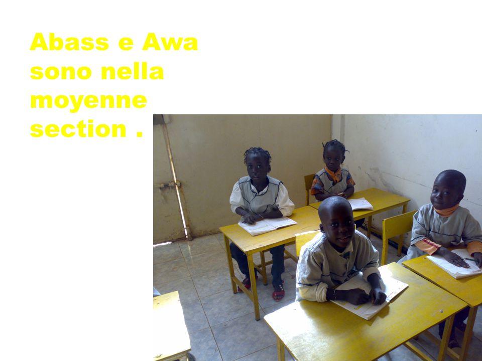 Abass e Awa sono nella moyenne section.