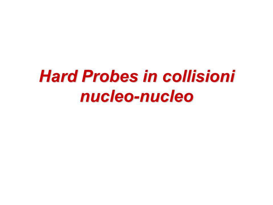 Hard Probes in collisioni nucleo-nucleo