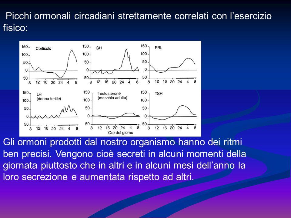 I cicli ormonali vengono distinti in base all'estensione del ciclo in questione: 1.