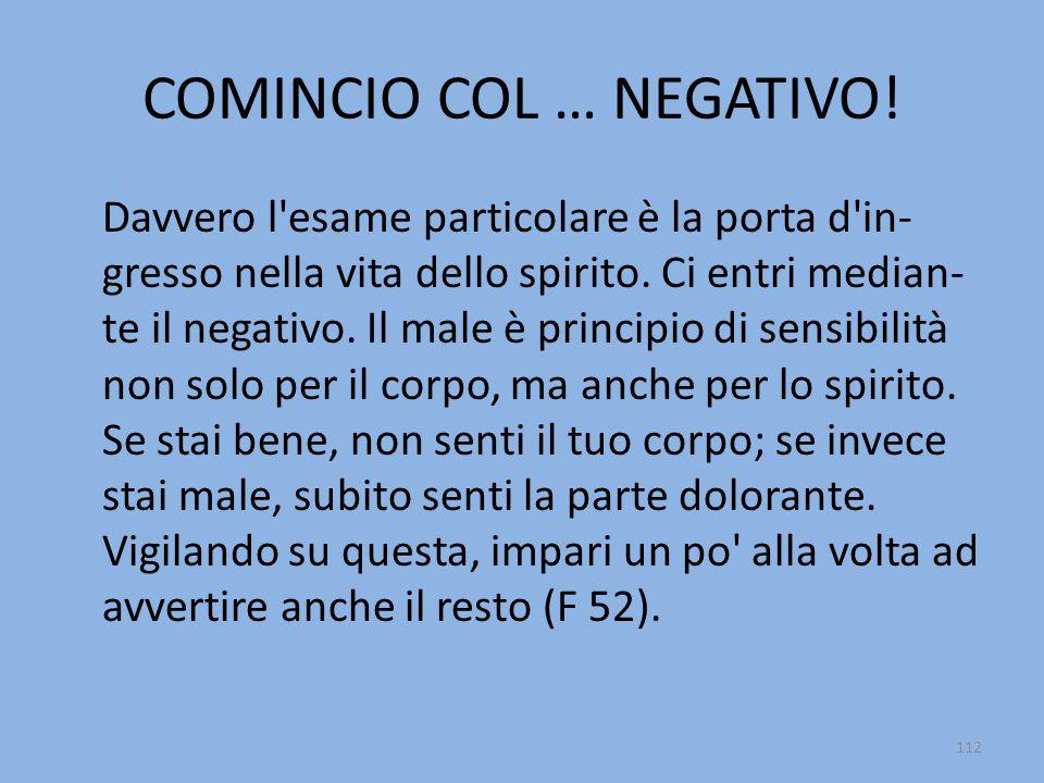 COMINCIO COL … NEGATIVO.
