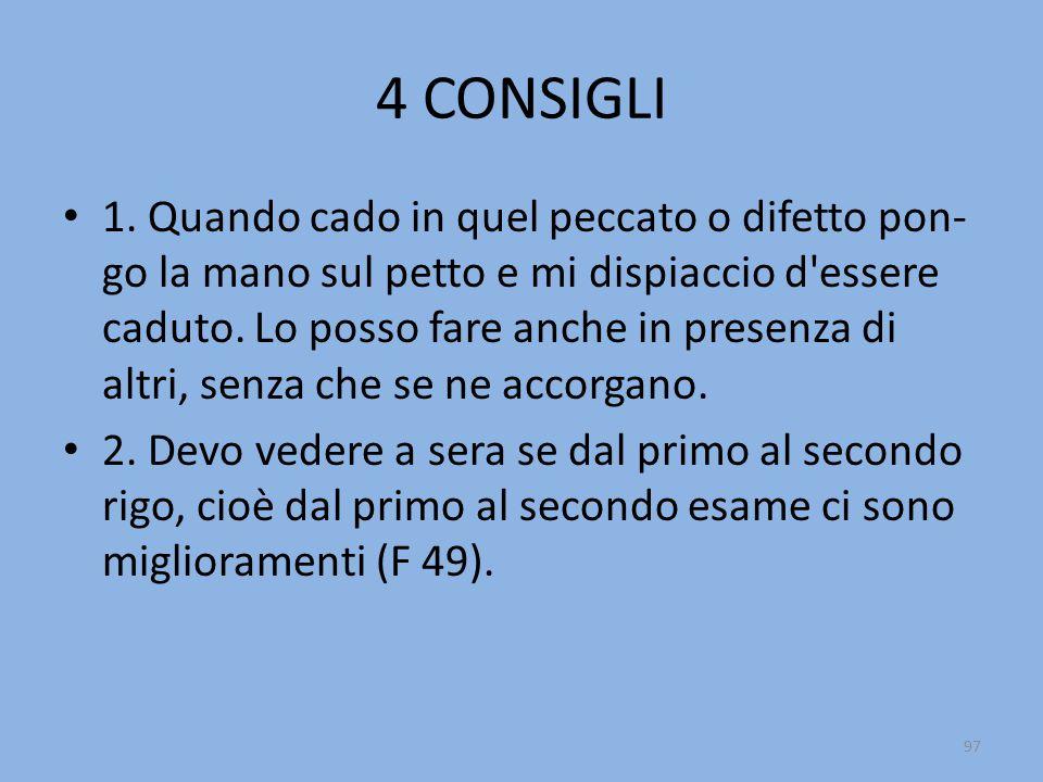 4 CONSIGLI 1.